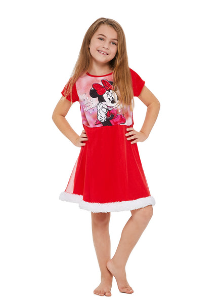Minnie Mouse Girls Sleep Gown