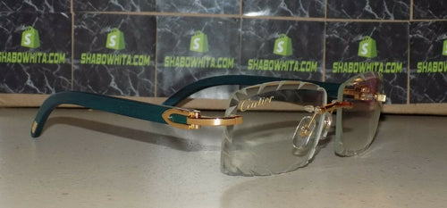 Authentic Cartier Smooth Greenwood LIMITED 2019 Buffalo C Décor Sunglasses Shabowhita