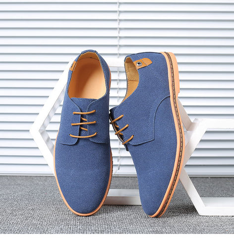 mens dress shoes suede