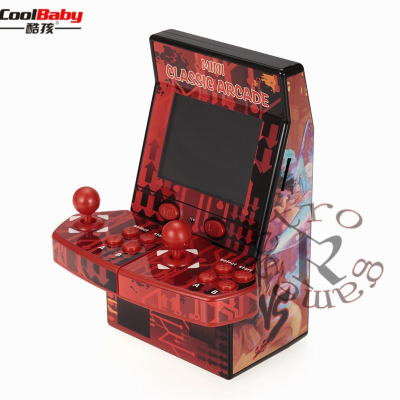 THE RETRO™ PORTABLE ARCADE GAME