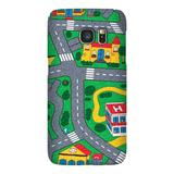 Carpet Track Samsung 6 Edge picturing Mats Baby Kids Rug CITY Carpet Car Play Mat Track