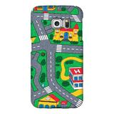 Carpet Track Samsung S7 Case picturing Mats Baby Kids Rug CITY Carpet Car Play Mat Track