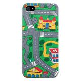 Carpet Track iPhone 7S PLUS Case picturing Mats Baby Kids Rug CITY Carpet Car Play Mat Track