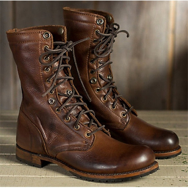 Genuine Leather Men Boots