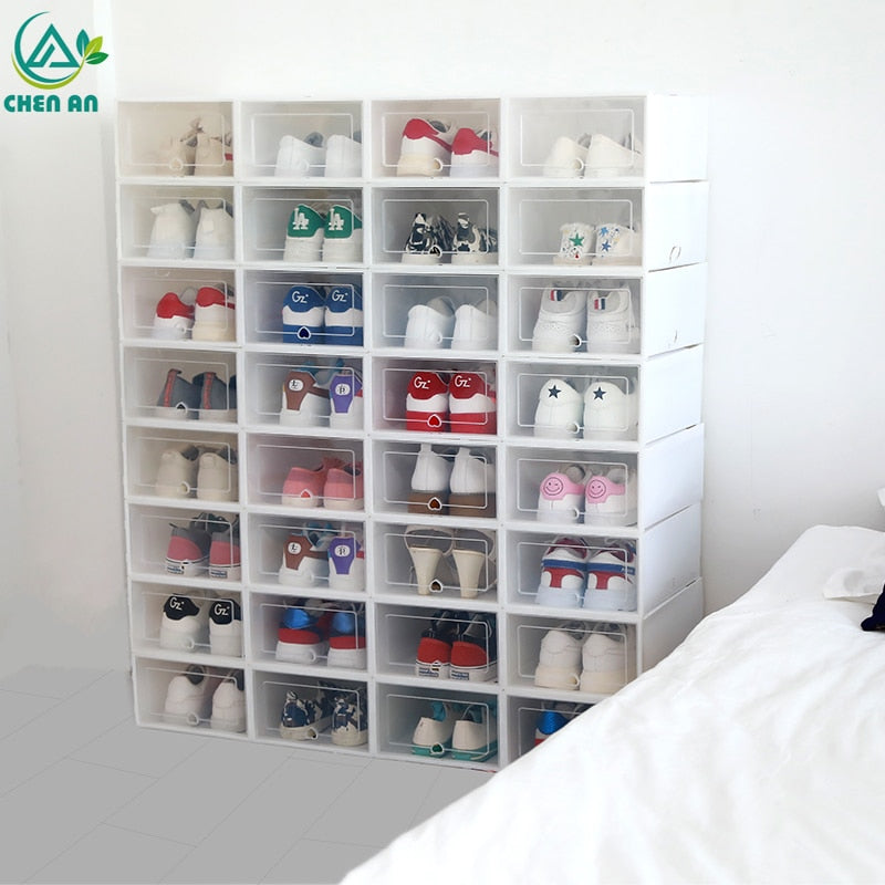 6PCS/Set Storage Shoe Box