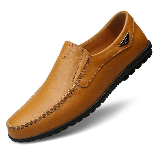 slip on leather mocassins driving shoes