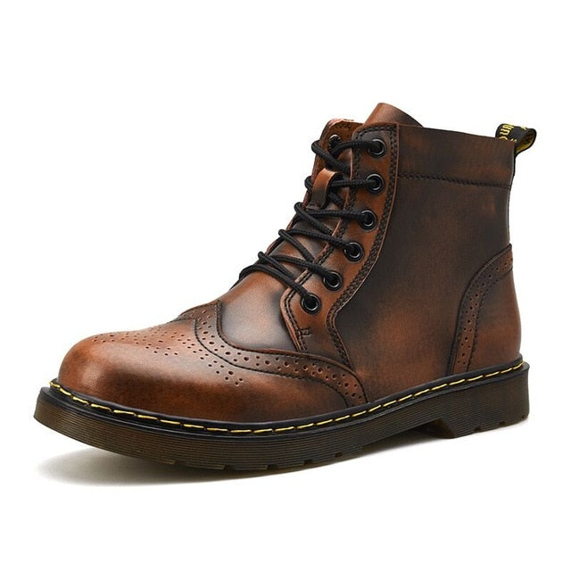 Work Leather Boots