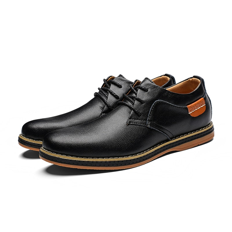 Casual dress derby shoes