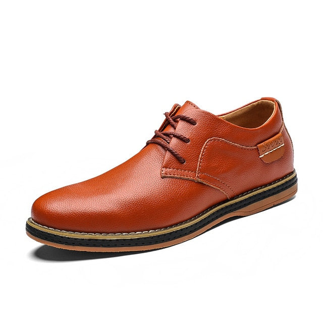 Casual derby shoes for men