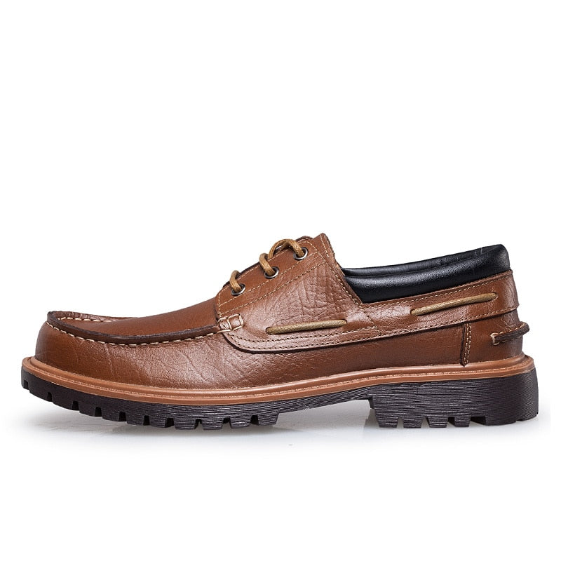 boat shoes with rubber sole