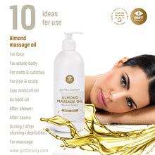 Load image into Gallery viewer, GMT ALMOND MASSAGE OIL 500ML