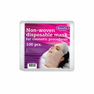 BF DISPOSABLE PRE-CUT FACIAL MASKS, 100 pieces