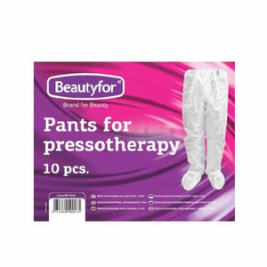 BF PANTS FOR PRESSOTHERAPY, white spanbond, 10pcs.