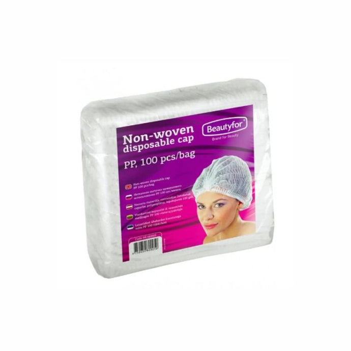 BF DISPOSABLE NON-WOVEN CAPS, 100 pieces