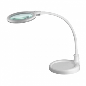 BF LED LAMP WITH MAGNIFIER