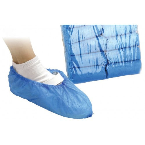 BF DISPOSABLE SHOES COVERS, 100P.