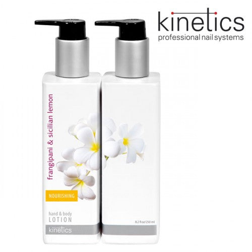 KINETICS HANDS & BODY FRANGIPANI & SICILIAN LEMON LOTION, 250ml