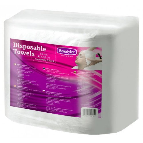 BF DISPOSABLE SOFT SPUNLACE TOWELS, 45x90cm, 50p.