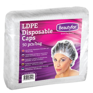 BF DISPOSABLE SHOWER CAPS, 50 pieces