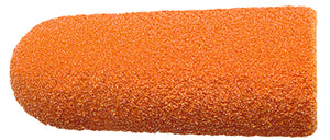 LUKAS PODO CAP 5MM, CONICAL, abrasive FINE, 10 pieces