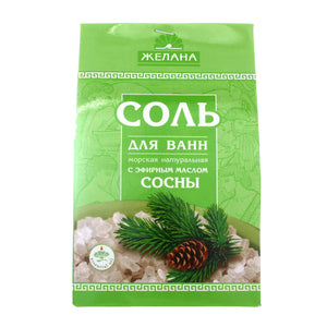 BATH SALT with Pinetree essential oil 500gr