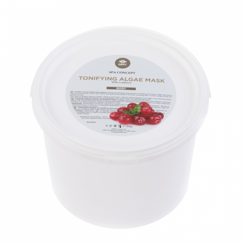 GMT TONING ALGAE MASK W/CRANBERRY 1.5KG