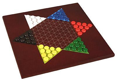 Wooden Chess and Chinese Checkers 2-in-1 Set
