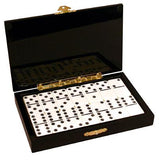 Deluxe double 6 Dominoes set with wooden case and 26 tiles