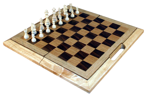 Chess, checkers & backgammon set