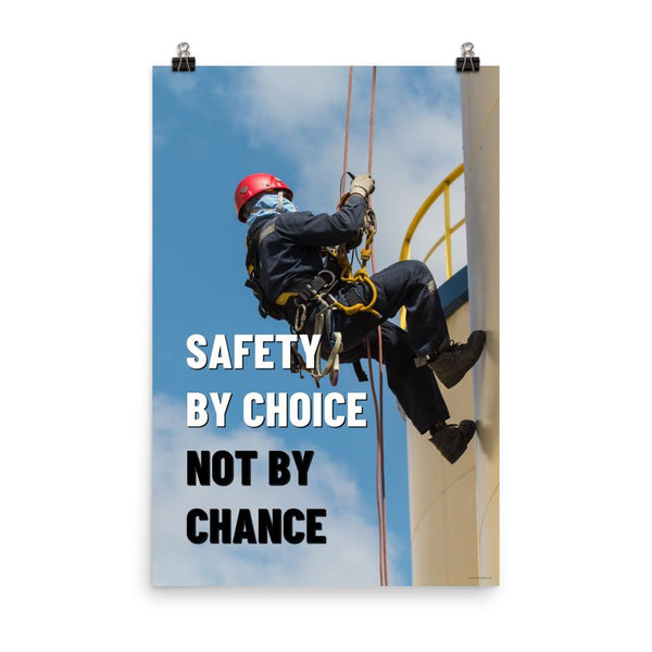 Safety by Choice - Poster