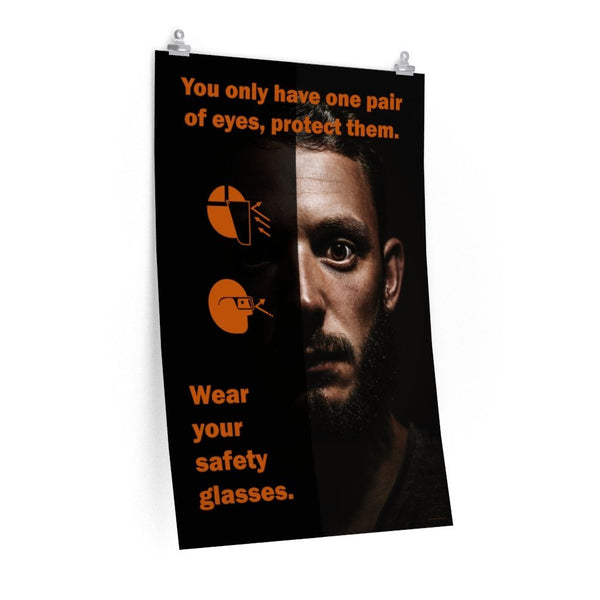One Pair of Eyes - Economy Safety Poster Poster Inspire Safety 24″ × 36″