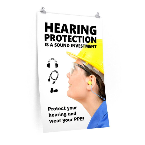 Sound Investment - Economy Safety Poster Poster Inspire Safety 24″ × 36″