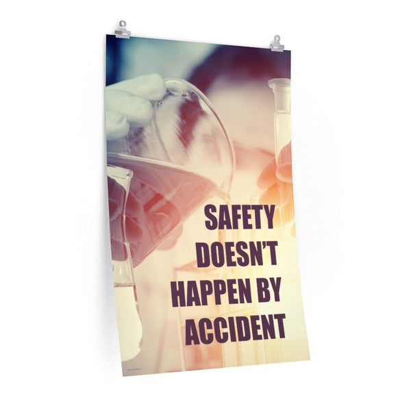 Safety By Accident - Economy Safety Poster Poster Inspire Safety 24″ × 36″