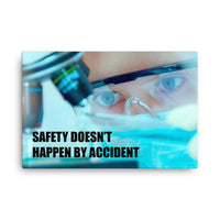 Safety by Accident - Canvas Canvas Inspire Safety