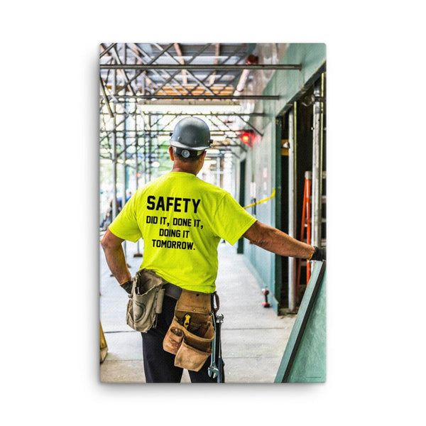 Safety Did It - Canvas