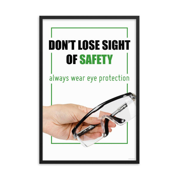 Don't Lose Sight - Framed
