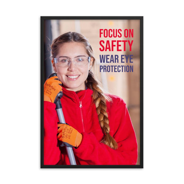 Focus on Safety - Framed