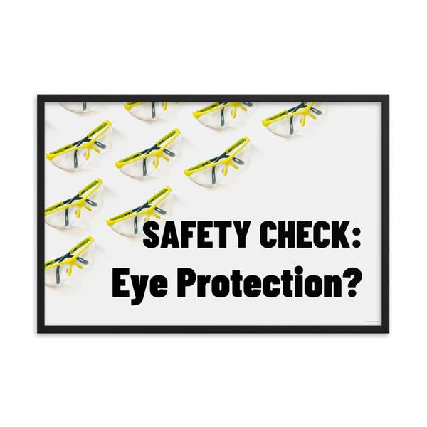 Safety Check - Framed