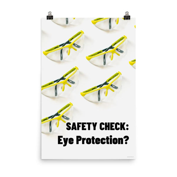 Safety Check - Premium Safety Poster Poster Inspire Safety