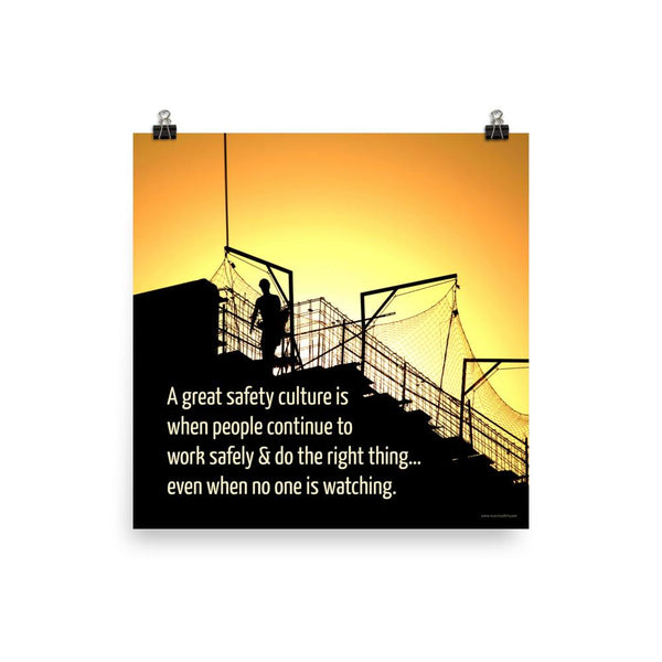 Great Safety Culture - Poster