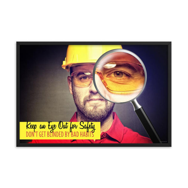 Habits - Framed Safety Posters