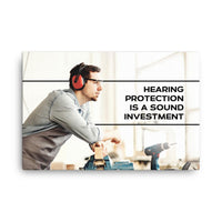 Sound Investment - Canvas Canvas Inspire Safety