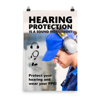 Sound Investment - Premium Safety Poster Poster Inspire Safety