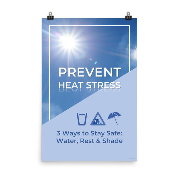 Prevent Heat Stress - Poster