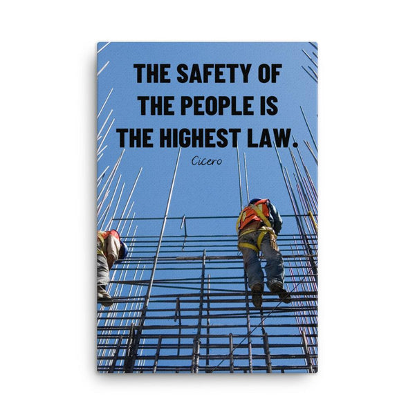 The Highest Law - Canvas