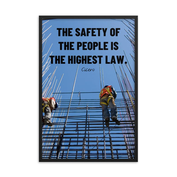 The Highest Law - Framed