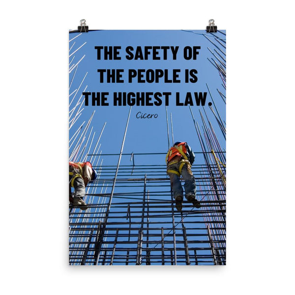 The Highest Law - Poster