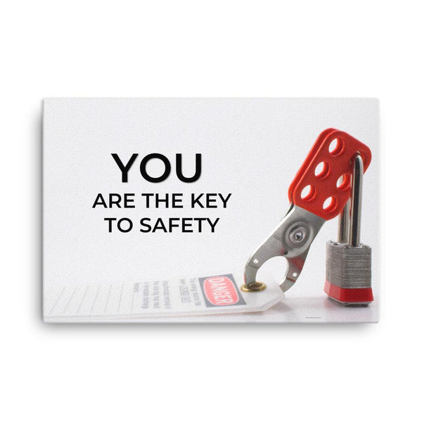 You Are The Key - Canvas Canvas Inspire Safety