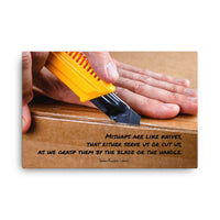 Mishaps - Canvas Canvas Inspire Safety 24×36