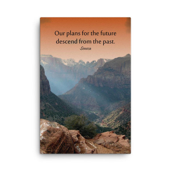 Plans for the Future - Safety Posters on Canvas